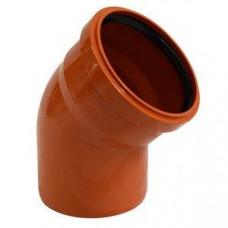 Уголок канализационный 45гр. наружный