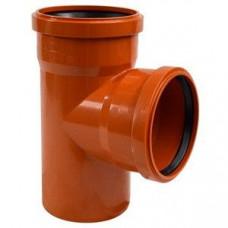 Тройник канализационный 90гр. наружный