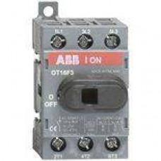 Рубильник ABB OT16F3, 16A, 3-полюсный