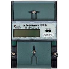 Электросчетчик Меркурий 206 N 5-60А/220В кл.т.2,0 многотарифный ЖКИ