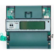 Электросчетчик Меркурий 236 АRT-01 PQRS 5-60А 220/380В Кл.т.1,0/2,0 Мн.т. А/Р На DIN рейку ЖКИ RS485