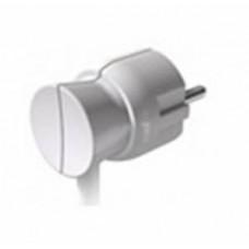 Вилка 2К+3 - Legrand Элиум - 16 А - пластик - нижний ввод - белый 050188