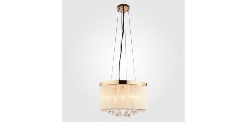 10038/5 / подвесной светильник /   золото/белый