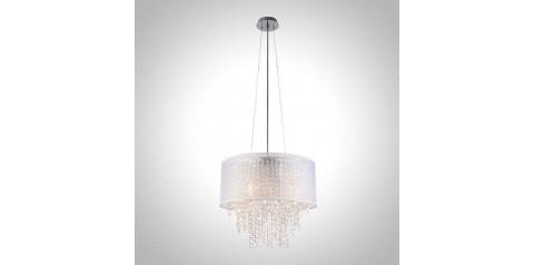 10070/5 / подвесной светильник /   хром/белый Strotskis
