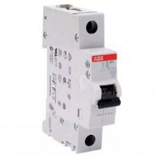 Автоматический выключатель 1-полюсный ABB S201 C10