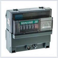 Электросчетчик Меркурий 201.5 5(60)А/230В однотарифный, кл.точ. 1,0