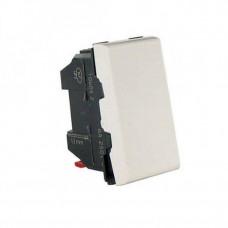 Выключатель 1 мод. 10AX 250В белый Mosaic Legrand 077000