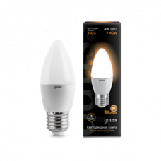 Лампа Gauss LED Candle 4W E27 2700K