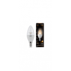 Лампа Gauss LED Candle Crystal Clear E14 4W 2700К