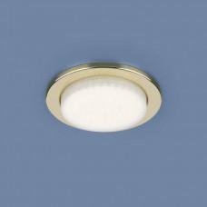 1035 GX53 CH / Светильник встраиваемый GD золото