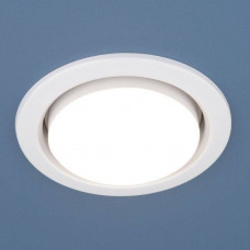 1035 GX53 WH / Светильник встраиваемый белый