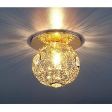 1002 G9 GD / Светильник встраиваемый золото