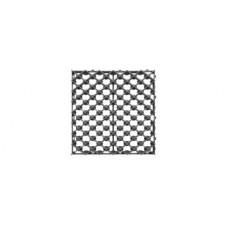 Решетка газонная пластиковая черная (ячейка)