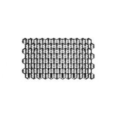Решетка газонная пластиковая черная (соты)