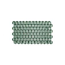 Решетка газонная пластиковая зеленая (соты)